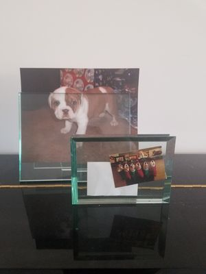 Glass modern picture frames for Sale in Seattle, WA