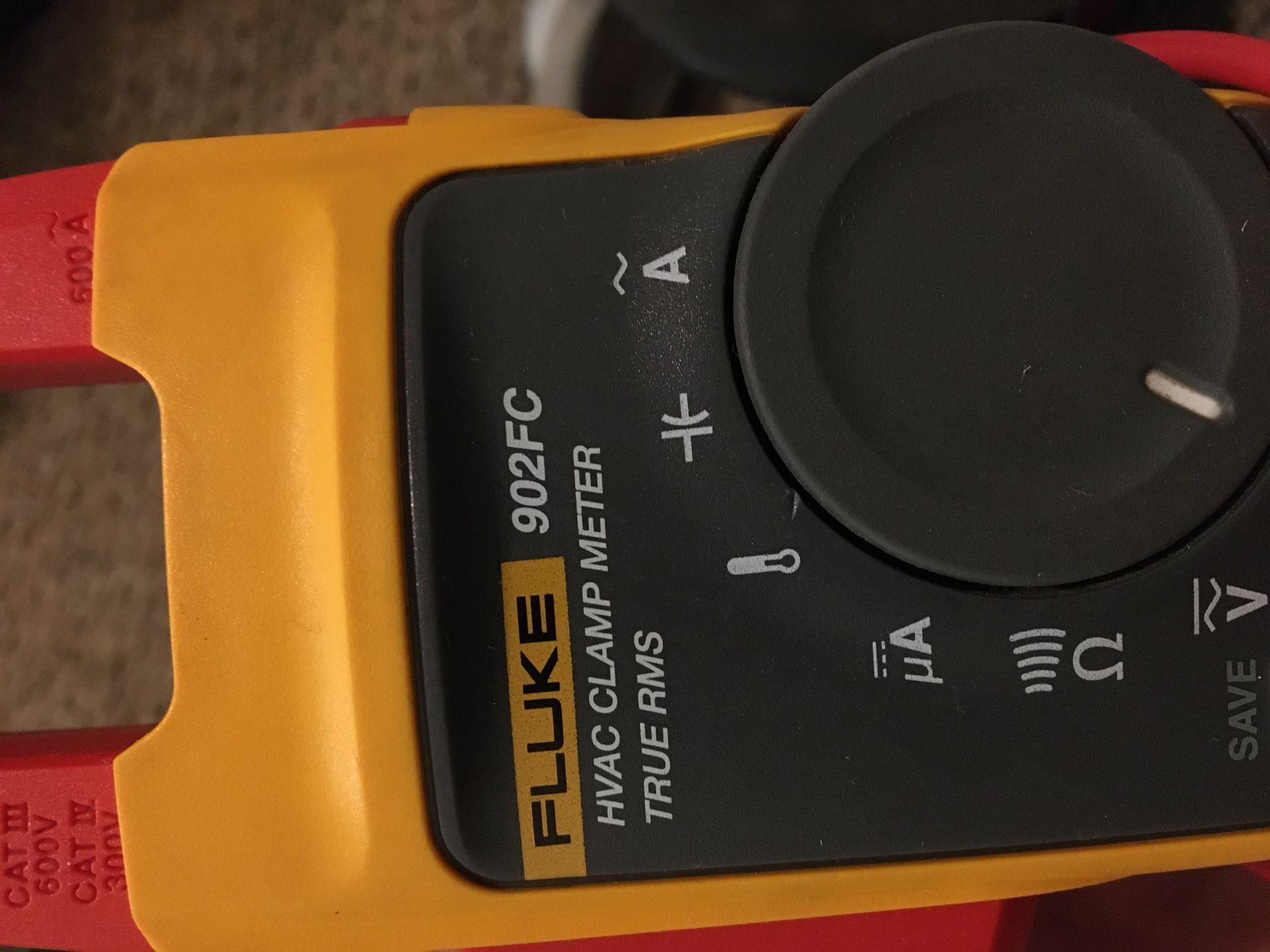 Fluke HVAC clamp meter