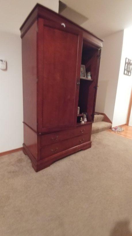 Armoire Wardrobe Closet Tv Stand
