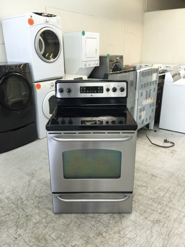 Ge Gl Top Electric Stove 5 Burners Stainless Steel For In San Jose Ca Offerup
