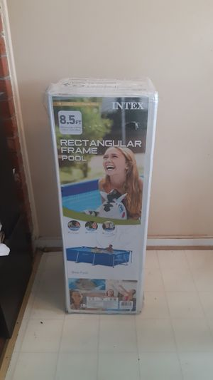 Photo Intex 8.5 rectangular frame pool