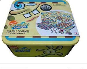Brand new Cardinal games spongebob 6 games tub for Sale in Farmington Hills, MI