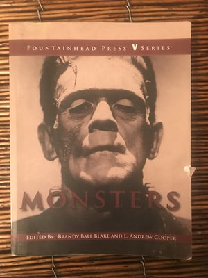 CSN ENG 101 | Monsters edited by Brandy Ball Blake and L Andrew Cooper for Sale in Las Vegas, NV