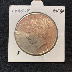 1925 P Peace Silver Dollar Thumbnail