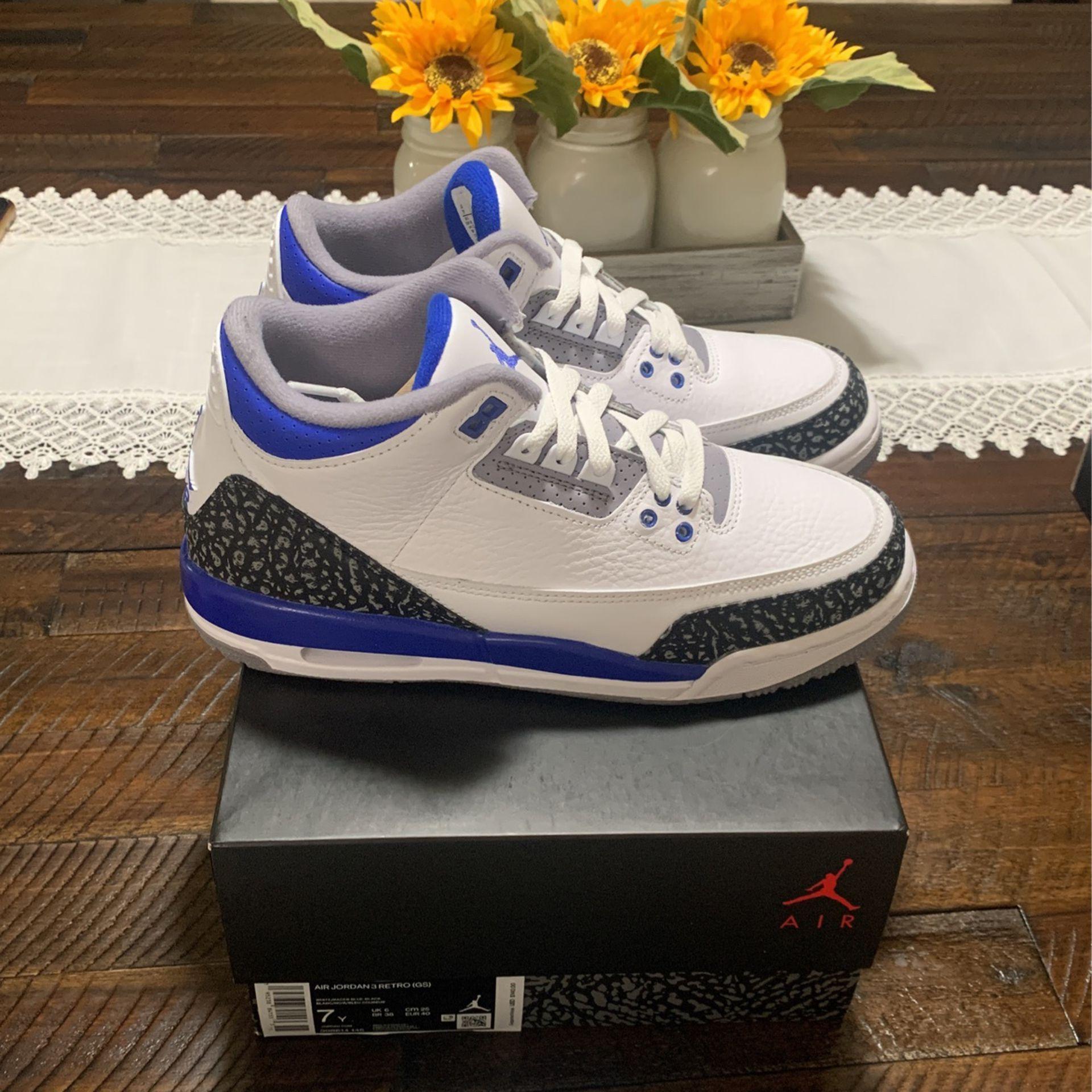 Jordan 3 Retro Racer Blue ( GS )
