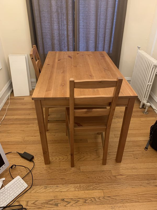 eb7bfbf46 IKEA table 2 chairs for Sale in Oak Park