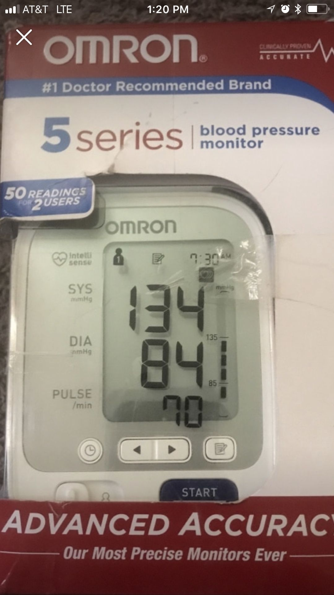 Brand new blood pressure machine