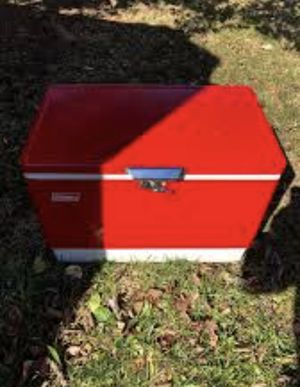Antique Coleman cooler for Sale in Adelphi, MD