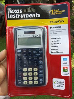 Texas Instruments TI-30X IIS Thumbnail