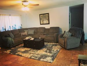 Power sectional and recliner for Sale in Guadalupe, AZ