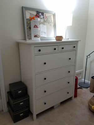 Drawer and 2 night stands IKEA for Sale in Ashburn, VA
