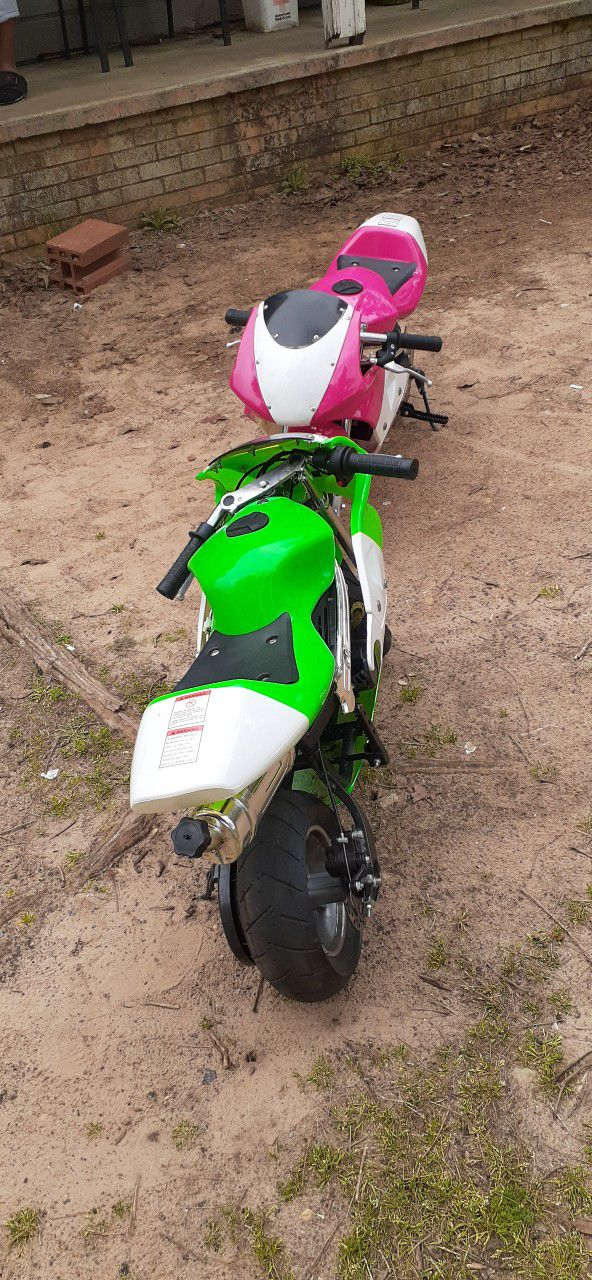 Photo 49cc Gas Packet Bike