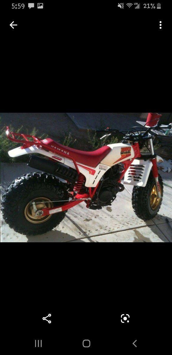 1986 yamaha bw200 rare bike runs good asking 2500 obo it