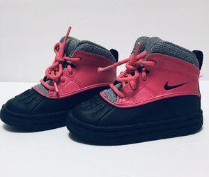 Photo Nike Toddler Woodside 2 High Pink Foil/Black-Cool Grey 524878-600 size 6C
