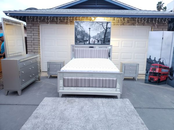 Bedroom Set Mirrored Gorgeous For Sale In Phoenix Az