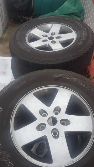 x4 Wheels and Tires P255/75R17 for Sale in Herndon, VA