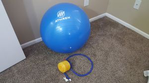 Fitness/Exercise/Yoga ball with pump for Sale in Seattle, WA