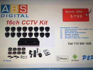 16 Camera kit D5016 for Sale in Houston, TX