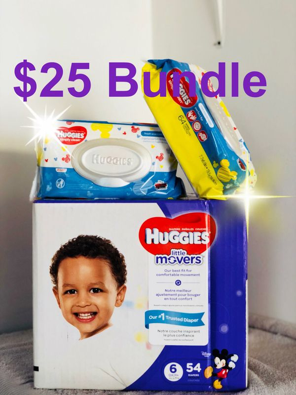 Huggies Little Movers Size 6 Bundle For Sale In Bellflower Ca Offerup