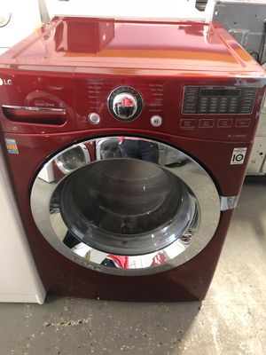 NEW LG FRONT LOAD WASHER AND DRYER ELECTRIC SET WITH ONE YEAR WARRANTY for Sale in Woodbridge, VA