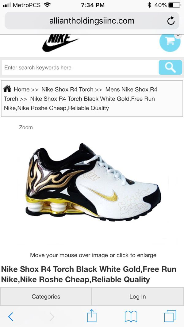 ... where to buy nike shox r4 torch black white gold for sale in hayward ca  offerup c60a9630f