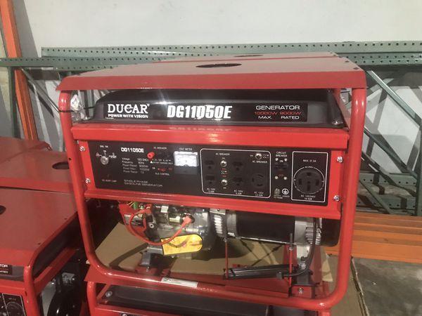 9 KW 10 Max Power Ducar Generator