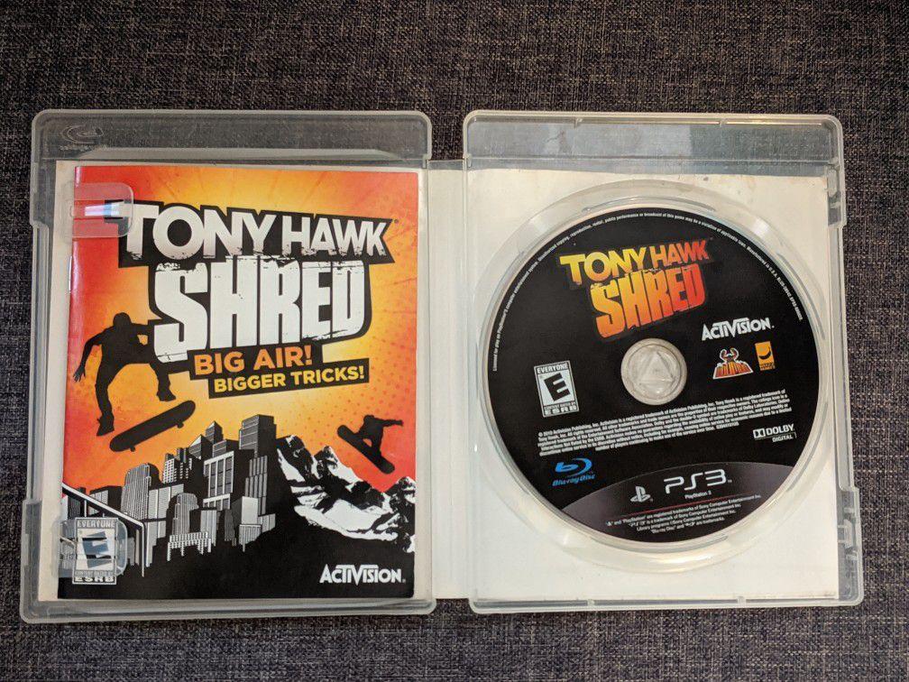 Tony Hawk Shred PS3