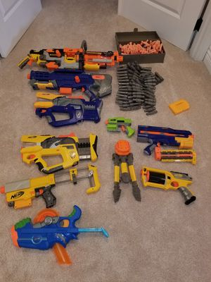 Nerf guns LOT for Sale in Vashon, WA