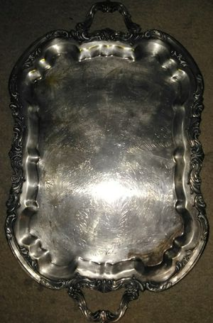 F. B. Rogers Silver Co. Serving trey 1883 for sale  Fayetteville, AR