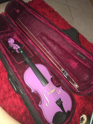 Purple violin for Sale in Houston, TX