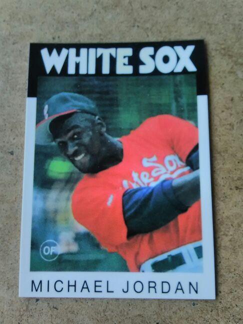 Michael Jordan Baseball Card For Sale In Riverbank Ca Offerup
