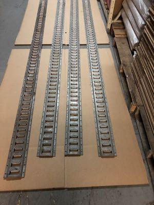 10 ft. E Track Galvanized 4 pieces for Sale in Washington, DC