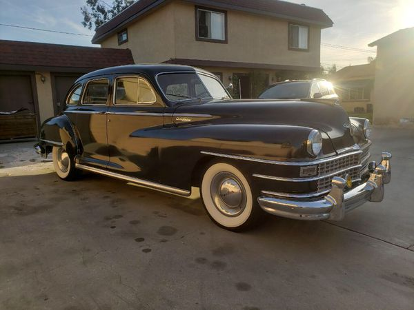 Used Car Dealerships Windsor >> 1947 Chrysler Windsor Chevy Fleetline for Sale in ...