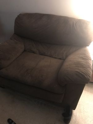 Oversized chair and sofa for Sale in Manassas, VA