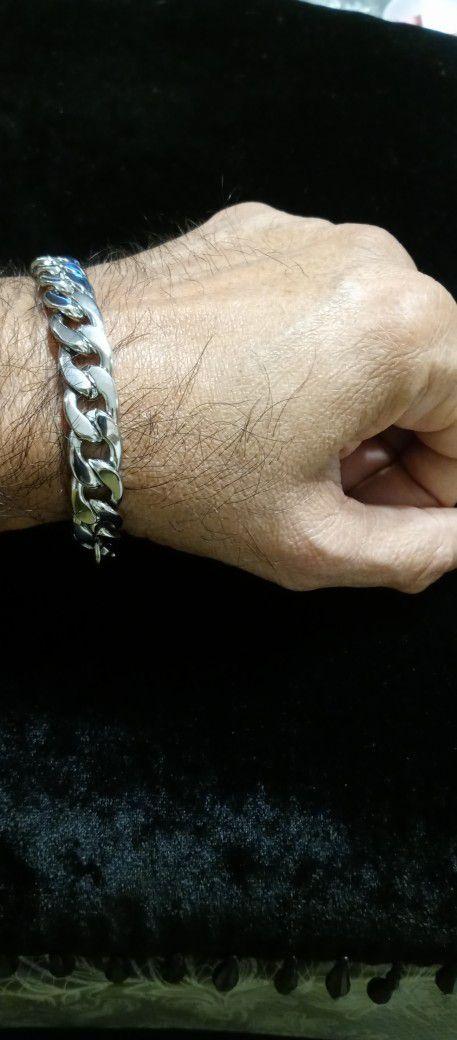 Stainless Steel men's chain bracelet