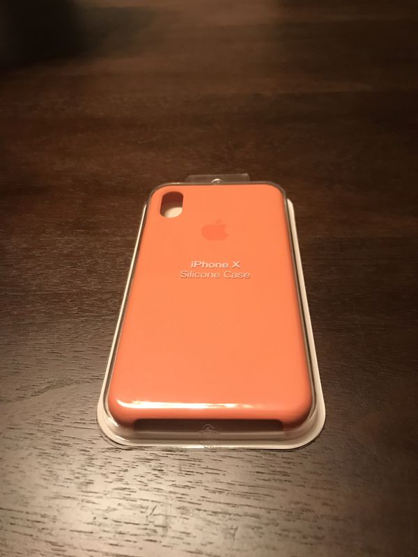 best cheap 8888a ff882 iPhone X Peach Silicone Case - Offer Now!!! for Sale in Paradise Valley, AZ  - OfferUp