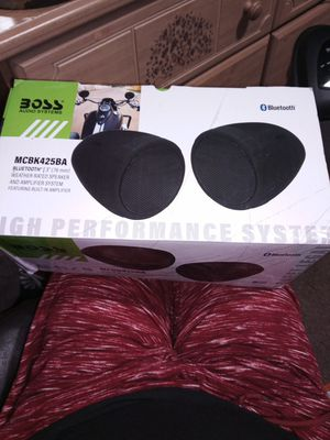 Photo NEW IN BOX Boss Bluetooth speaker for Motorcycle/bike
