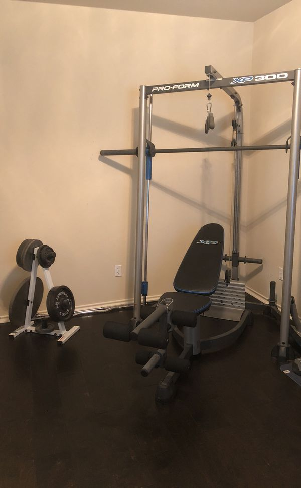 Curl Post PROFORM XP 300 Weight Bench