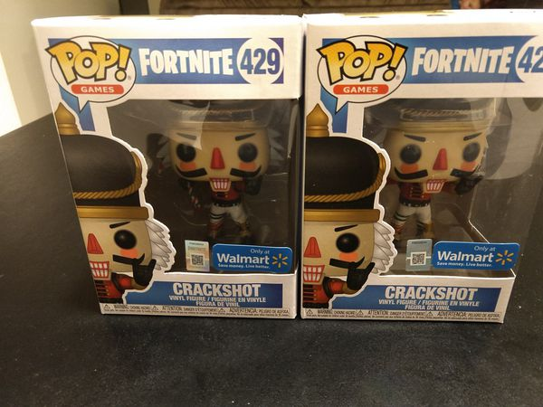 Walmart Exclusive Fortnite Crackshot Funko Pop For Sale In Grass