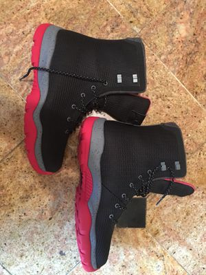 Jordan Future boots ( black,red,grey ) Sz 12 new without box for Sale in Chevy Chase, MD