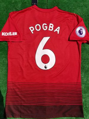 81d4a8813 2018 19 Manchester United soccer jersey Pogba for Sale in Raleigh