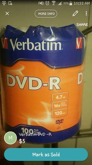 Verbatim DVD-R for Sale in Columbus, OH