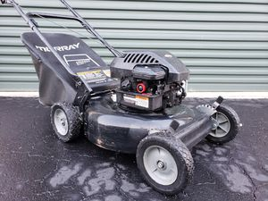 Photo Murray Push Lawn mower with bag or mulcher Briggs engine PRICE IS FIRM