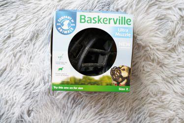 Dog Muzzle Size Large & Medium Thumbnail