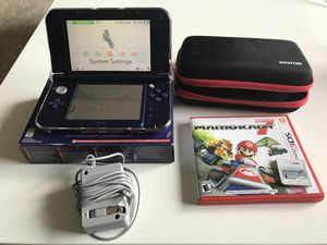 3DS XL w/ Case and Mario Cart 7 for Sale in Franconia, VA