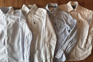 Abercrombie Kids Polo Ralph Lauren Zara Boy's Oxfords Long Sleeve Dress Shirts Youth Size M 8-9 T for Sale in Alexandria, VA