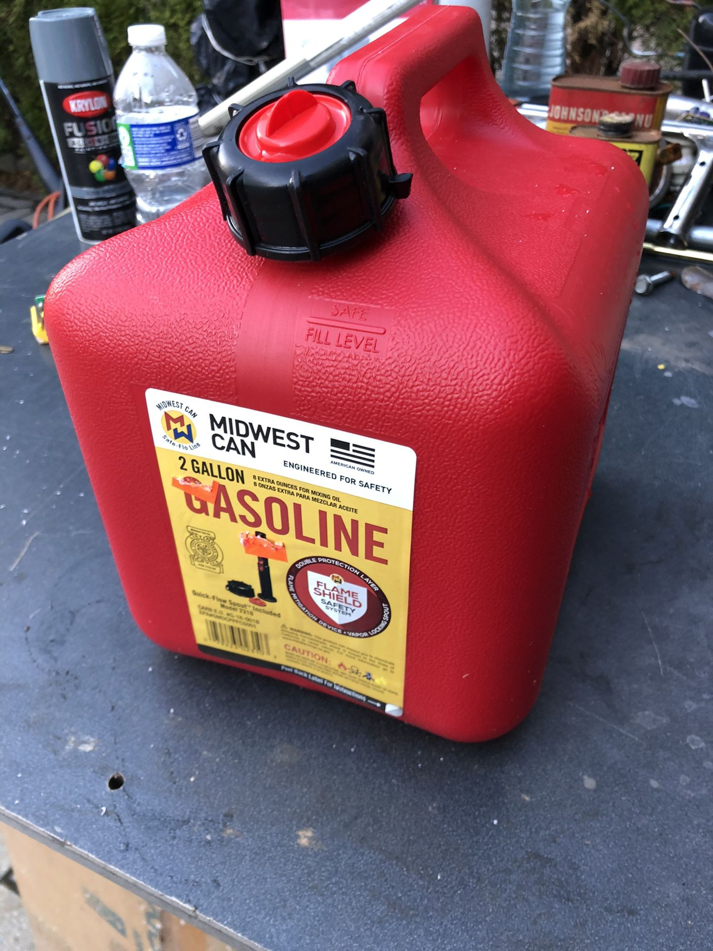 Gas Can Container