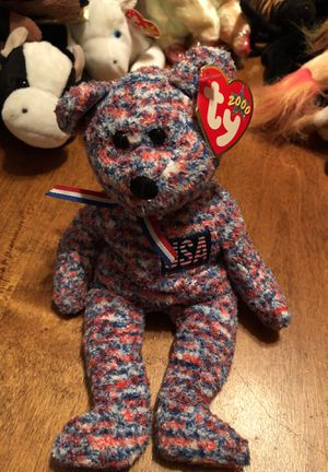 TY beanie baby USA bear for Sale in Lemoore, CA