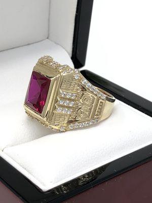 Real Gold 💫 Fancy Gold Men Ring for Sale in Orlando, FL