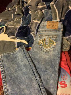 True Religion kid's pants Thumbnail
